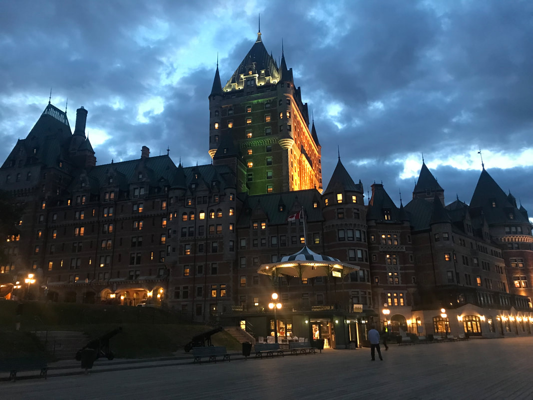 Chateau Frontenac, Quebec City. Incredible Hotels to Visit Before You Die.