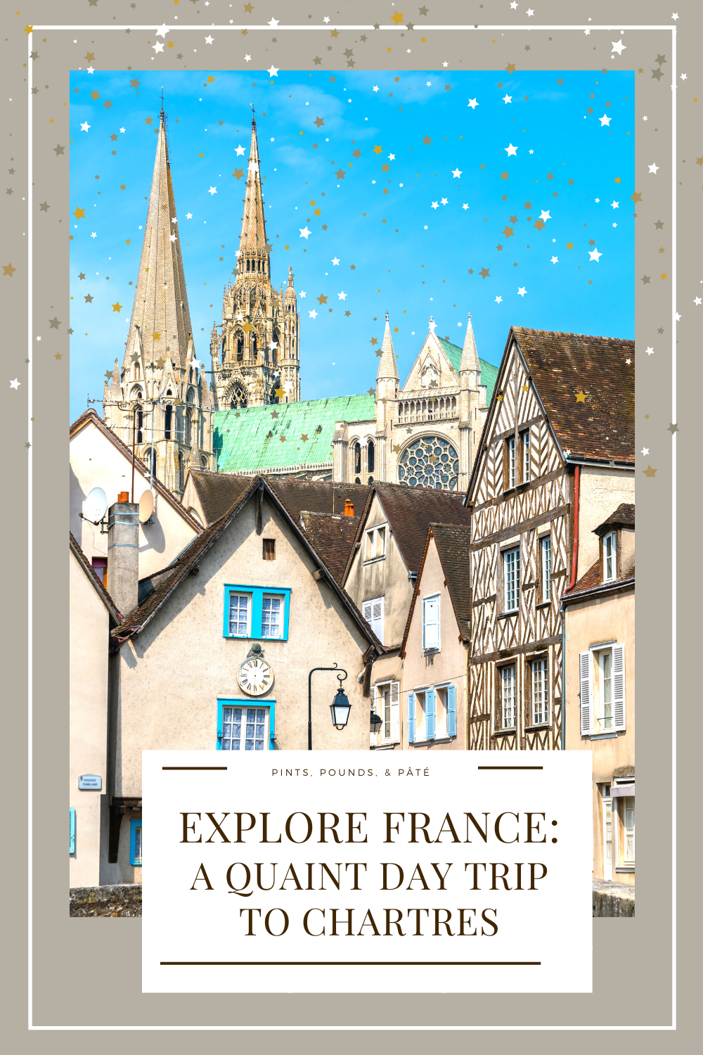 A day trip from Paris to Chartres