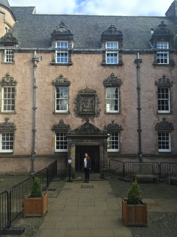 Argyll's Lodging, Stirling, Scotland. A Day Trip to Stirling from Edinburgh.