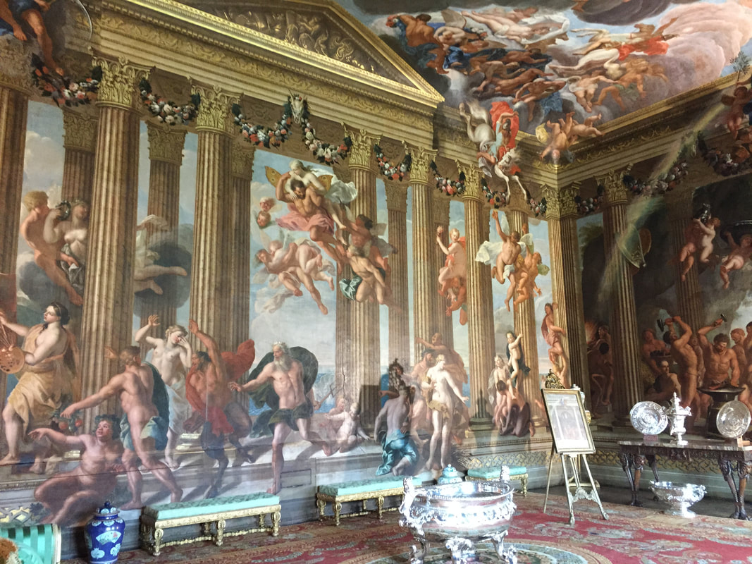 The Heaven Room, Burghley House, Stamford