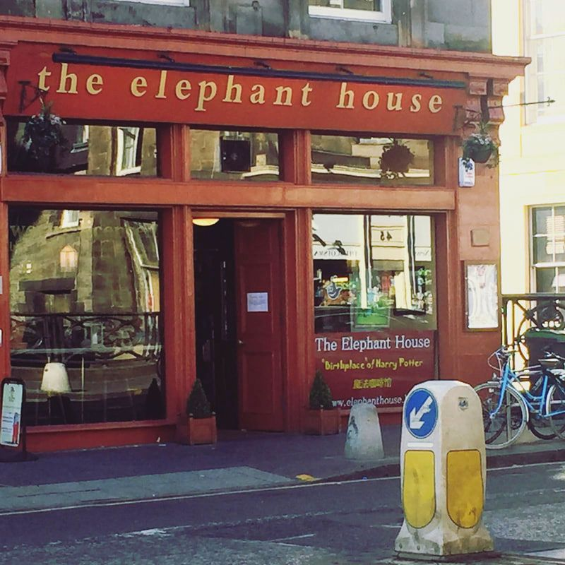 The Elephant House, Edinburgh - one of the cafes were JK Rowling wrote Harry Potter