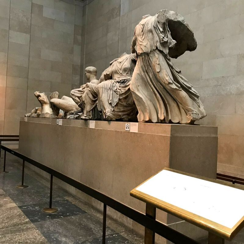 The Elgin Marbles, The British Museum. Which European City Should I Visit?