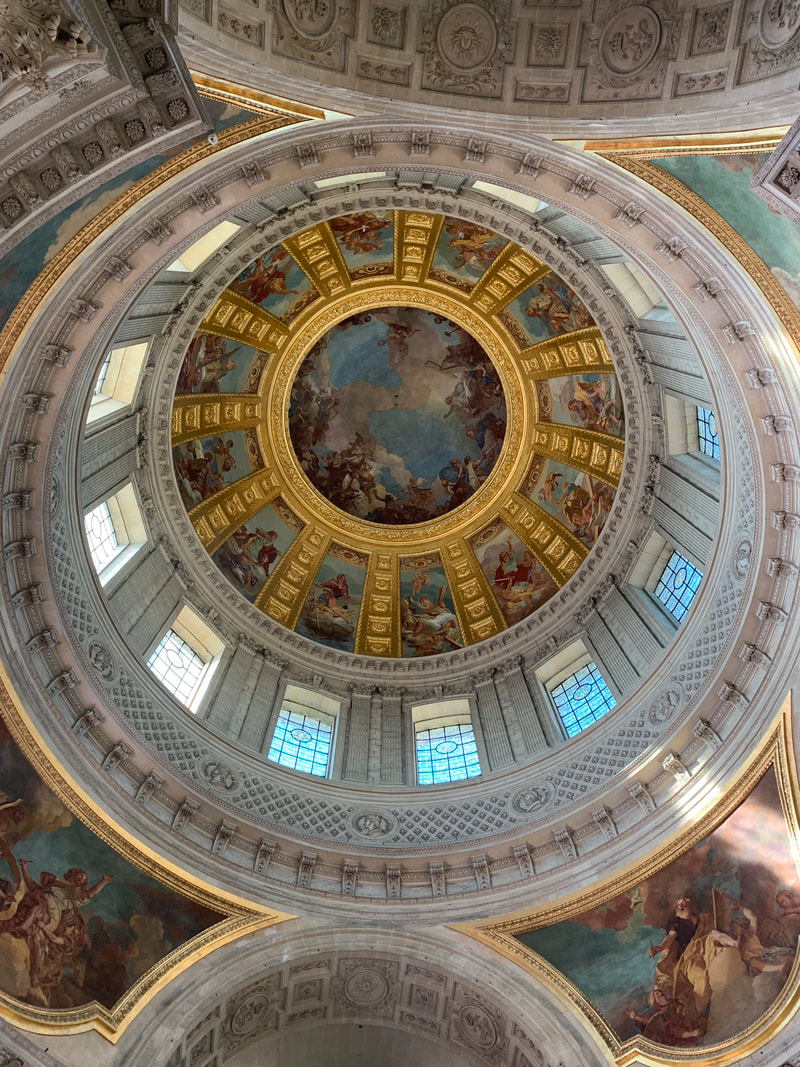 Interior of des Invalies, Paris, France. Tourist Mistakes in Paris, France