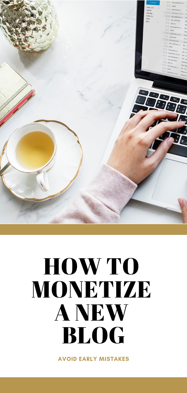 How to monetize a new blog