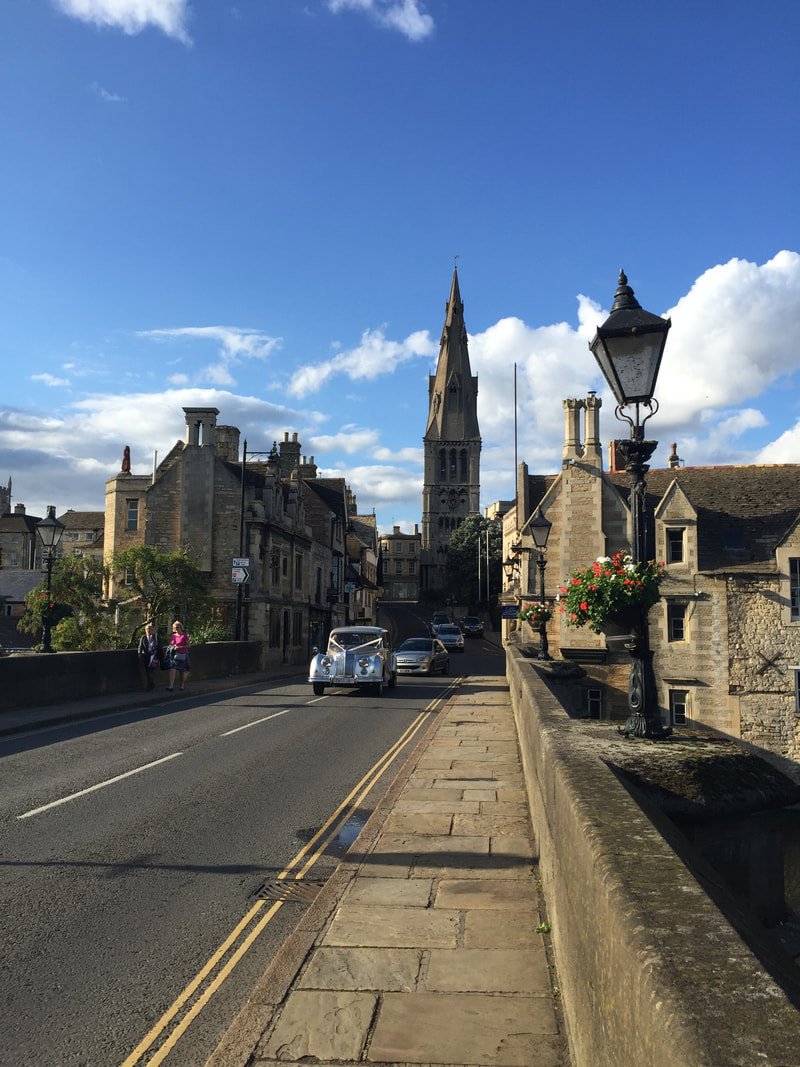 Downtown Stamford, Lincolnshire, England, an easy day trip from London