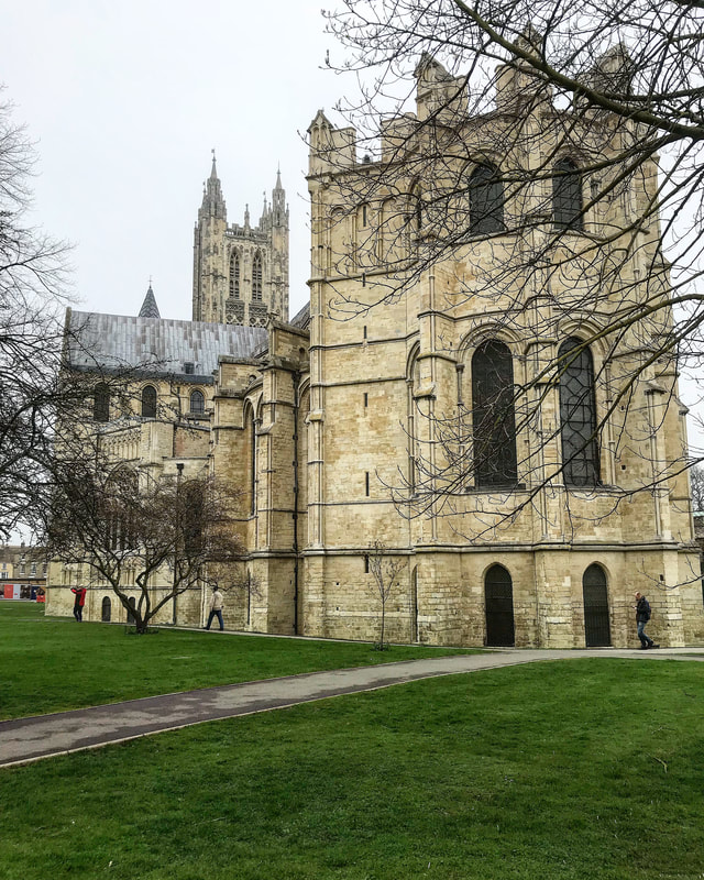 Canterbury Cathedral. Pints, Pounds, & Pate Travel Blog