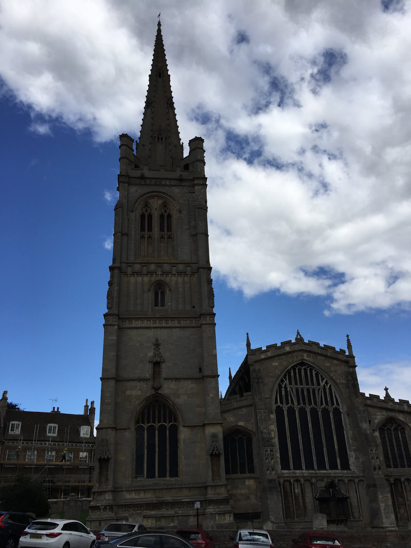 St. Mary's, Stamford, Lincolnshire, England