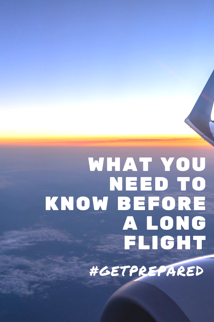 What to Know Before a Long Flight