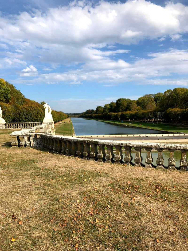 Water feature, the Chateau de Fontainebleau