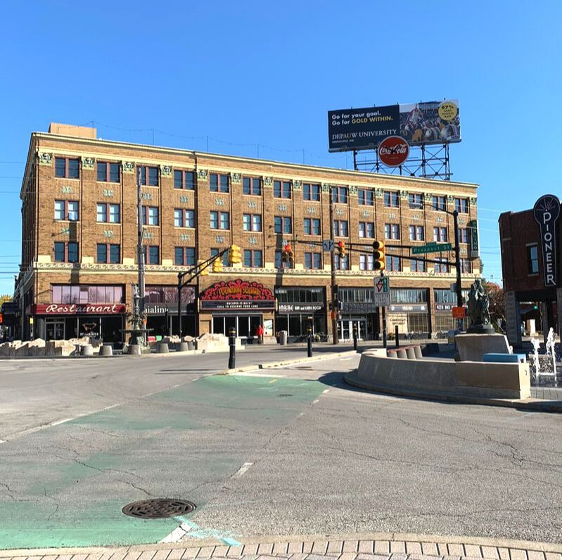 The Heart of Fountain Square. A Local's Guide to Fountain Square, Indianapolis.