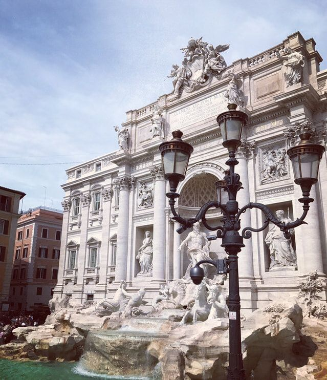 The Trevi Fountain. Which European City Should I Visit?