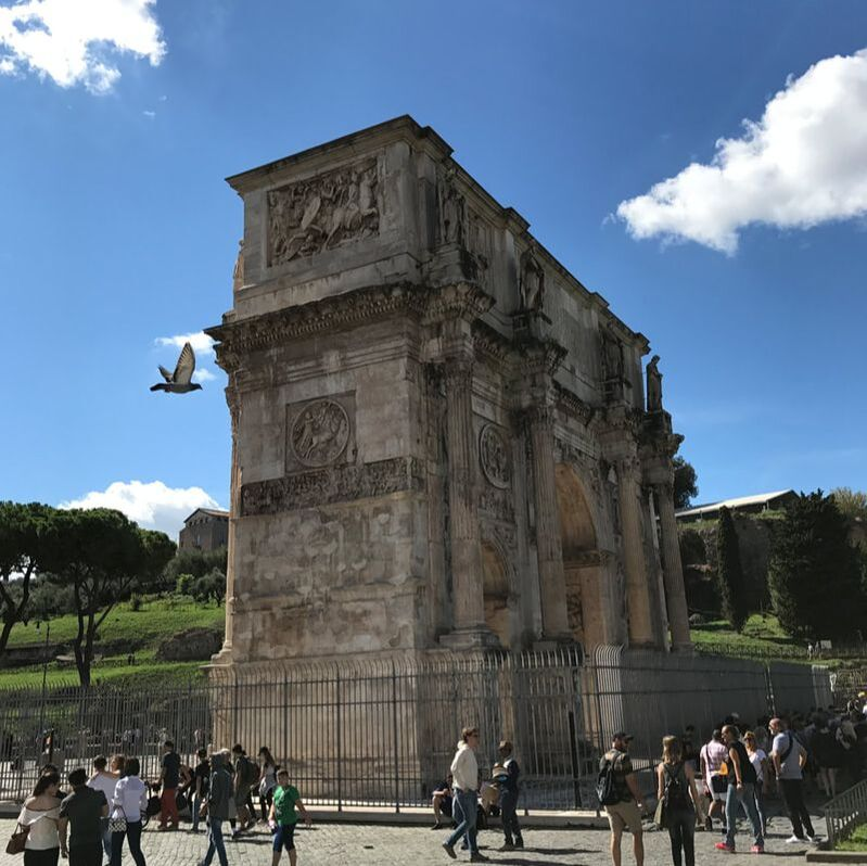 The Arc of Constantine, Rome, Italy