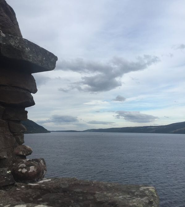 View of Loch Ness from Urquhart Castle