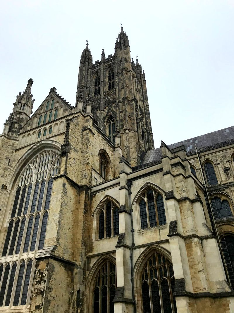 Visiting Canterbury Cathedral from London