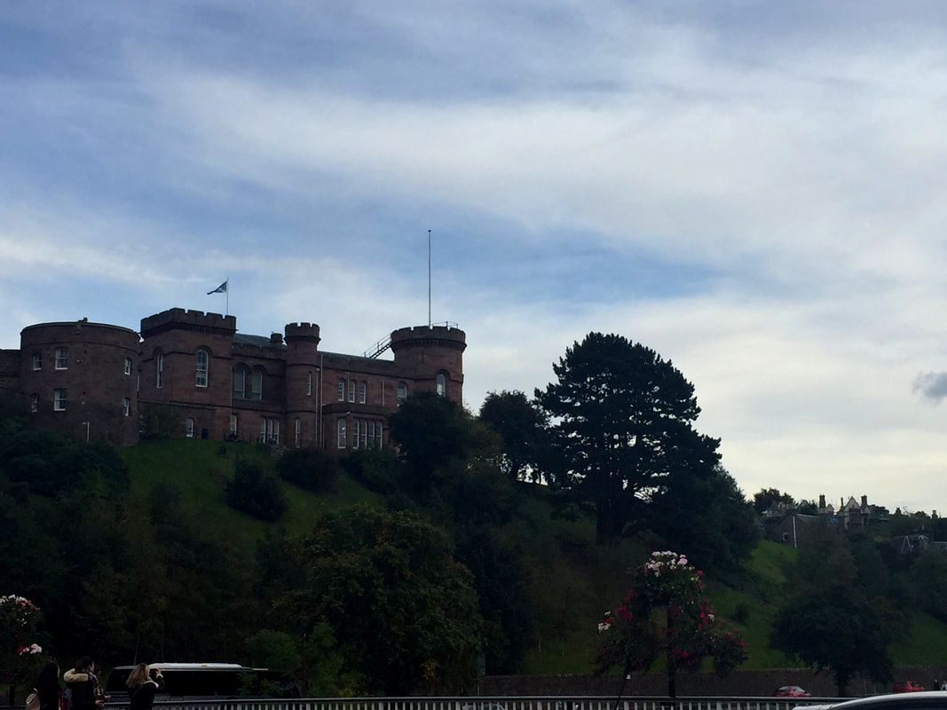 Inverness Castle, Inverness Scotland