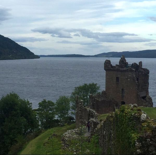 Urquhart Castle, Loch Ness, Scotland. Why You Should Visit Scotland.