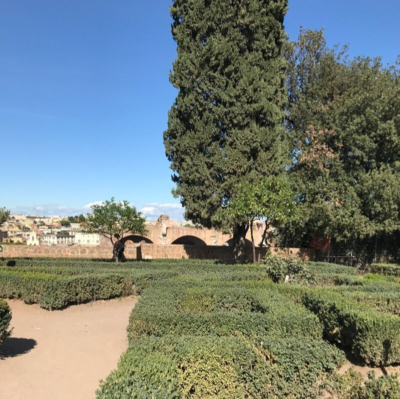 Gardens on the Palatine Hill