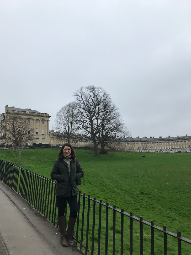 The Royal Crescent, Bath, England. A Day Trip to Bath from London.