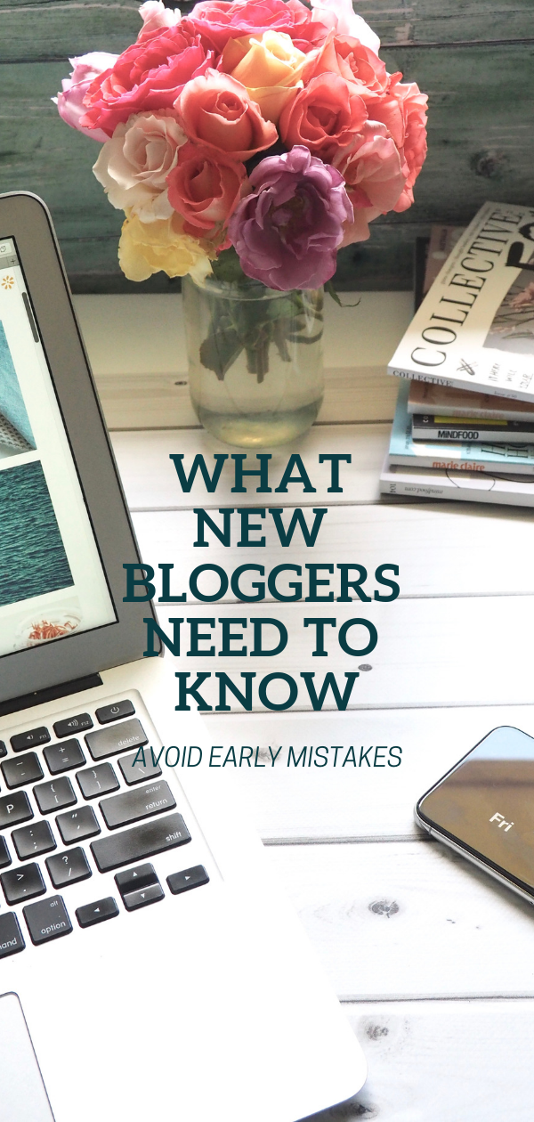 What new bloggers need to know